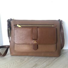 Fossil Kinley Crossbody Bag Brown Leather ZB7879200