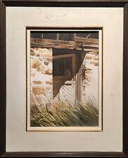 Jack Henry Reid (Canadian) - Framed Watercolour - Chandler's Barn