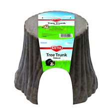 Large Wood Plastic Composite Tree Trunk Hideout For Rabbit Guinea Pig Chinchilla