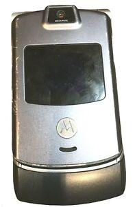 Motorola RAZR V3 2G Locked To Verizon Phone with Camera Gray