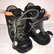 Burton Ion Grom Snowboard Boots Youth Kids Boys Size 6-EU 38-SHIPS N 24 HOURS