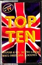 CAS - Top Ten - Various (ITALO COMPILATION) NUEVO Y PRECINTADO - MINT & SEALED