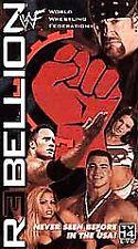 WWF - Rebellion (VHS, 2001)