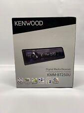 Kenwood KMM-BT250U Single-Din In-Dash Digital Media Receiver With Bluetooth