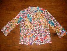 Christopher & Banks Petite - Women's colorful spring  blazer - Size P/S