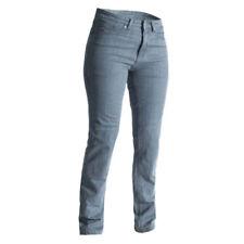 Pantalones gris para motoristas, para mujer