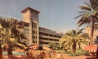"Phoenix, Arizona Postcard ""Patio Suites at HOTEL WESTWARD HO"" Pool Scene c1950s"