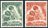 BERLIN 1951, MiNr. 80-81, postfrisch, Mi. 55,-