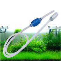 Aquarium Water Absorber Water Filter Fish Tank Gravel Vacuum Cleaner Siphon Pump