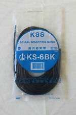 100 METRES Spiral Wrap Cable Binding 4 - 15MM Hide Tidy Wire Tube Protection KSS