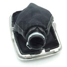 23mm 5 Speed Gear Shift Knob Gaitor Boot Leather  For Golf 4 Bora Jetta MK4 VW