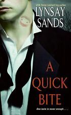 A Quick Bite (Argeneau Vampires, Book 1)-ExLibrary
