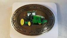 JOHN DEERE 8360R WESTERN STYLE COLLECTIBLE DIE-CAST BELT BUCKLE SPEC-CAST NEW