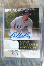 2009 ROBBIE RAY Upper Deck USA Future Watch Auto Jersey Rookie RC #/899
