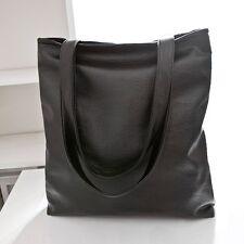 Damen PU Leder Handtasche Schultertasche Umhängetasche Shopper Beutel Tasche