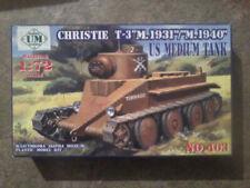 UM 1/72 Tank Christie T3M réf : 403