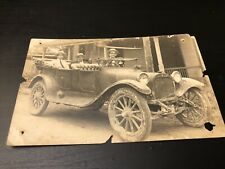 Rare Cuban Old Vehicle Postcard Cuba.1920's.