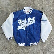 Hard Rock Cafe Vintage Retro Rare Lettermans Varsity Jacket Men's Large