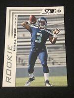 🔥 HIGH GRADE!!! 🔥 2012 Score Football RUSSELL WILSON ROOKIE, Seattle Seahawks