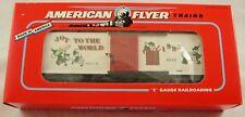 American Flyer by Lionel #6-48319 1993 AF Christmas Boxcar MIB