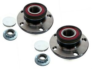 For VW Polo MK5 9N 2002-2009 Front Hub Wheel Bearing Kits Pair
