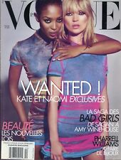 FRENCH VOGUE  FEB 2008 [ KATE MOSS / NAOMI CAMPBELL ]  LIKE NEW UNREAD