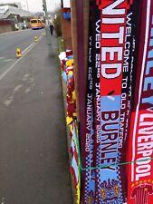 Manchester United V Burnley Match Scarf 22/1/20