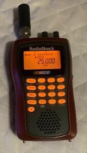 Radio Shack Used PRO-84 20-516 NASCAR Programmable Police/Fire Emergency Scanner