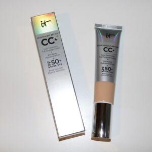 IT Cosmetic CC Cream Full Coverage Foundation SPF 50 LIGHT or Medium 1.08oz/32ml