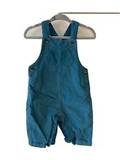 Baby Girls M&S Corduroy Dungarees 3-6 Months