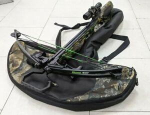 Barnett Quad 400 Camo Crossbow / 4x32 Scope / Quiver / Soft Case Kit