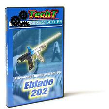 Planet Eclipse eBlade 202 & WorrBlade Set-Up & Repair Paintball Tech DVD - TechT
