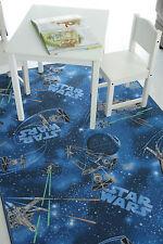 Star Wars Disney Childrens Girls Boys Bedroom Playroom Carpets Kids Play Rug Fun