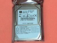 "Toshiba MK6021GAS HDD2189 S ZE01 4200RPM  60gb 2.5"" IDE hard drive"