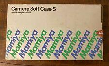 BRAND NEW MAMIYA M645 SOFT CASE S with original inserts