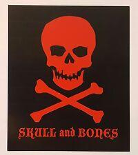 Viaje Skull and Bones cigar sticker
