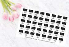Work Functional Planner Stickers, for All Types of Planners, Erin Condren