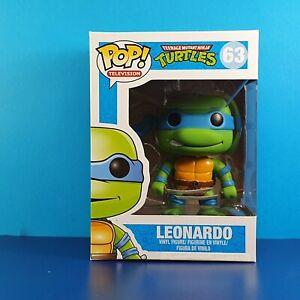 Leonardo Funko Pop Vinyl Figure Teenage Mutant Ninja Turtles #63 Hero