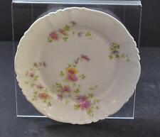 Vintage Imperial H & C Carlsbad Austria Salad Plate Lavender Floral 7 5/8 W5