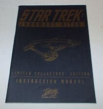 1995 STAR TREK JUDGEMENT RITES INSTRUCTION MANUAL Paperback *^