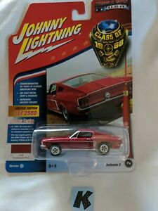 Johnny Lightning Muscle Cars USA 1968 Ford Mustang GT (K)