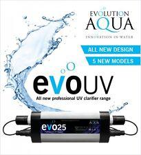 Evolution Aqua evoUV Koi Fish Pond UV Steriliser Clarifier 25w Ponds 20000l