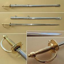 US Army Model 1840 NCO Officers Sword with Steel Scabbard and EN45 Blade
