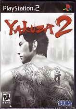 Yakuza 2 - Original Black Label - PlayStation 2 PS2 [Video Game] Brand New
