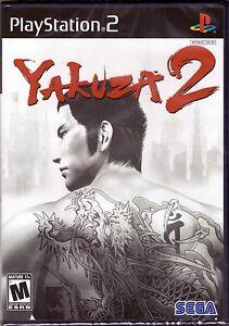 Yakuza 2 - Original Black Label - PlayStation 2 PS2 [Video Game] Brand New