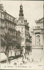 VINTAGE POSTCARD Toulon La Caisse d'Epargne  AJ.304
