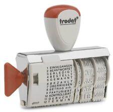 Trodat Wortbandstempel 1117 mit Datum