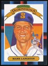 1988 Leaf/Donruss #20 Mark Langston DK Seattle Mariners