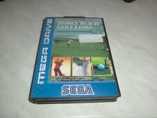 Pebble Beach Golf Links (Sega Mega Drive) in Hülle mit Anleitung, PAL