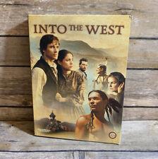 Into The West TNT Miniseries (DVD 4-Disc Set) Steven Spielberg Rare